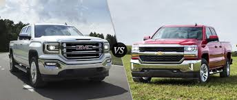 2016_GMC_SIERRA_1500_VS_2016_Chevy-Silverado_A-2.jpg?s=242358 Gmc Comparison 2018 Sierra Vs Silverado Medlin Buick 2017 Hd First Drive Its Got A Ton Of Torque But Thats Chevrolet 1500 Double Cab Ltz 2015 Chevy Vs Gmc Trucks Carviewsandreleasedatecom New If You Have Your Own Good Photos 4wd Regular Long Box Sle At Banks Compare Ram Ford F150 Near Lift Or Level Trucksuv The Right Way Readylift 2014 Pickups Recalled For Cylinderdeacvation Issue 19992006 Silveradogmc Bedsides 55 Bed 6 Bulge And Slap Hood Scoops On Heavy Duty Trucks