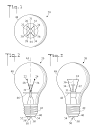 patent us7804233 light bulb and method of use patents