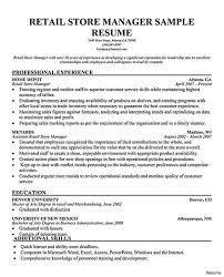 Professional Retail Management Resume Examples Supervisor Cv