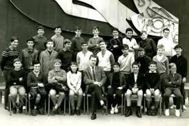 photo de classe 1968 lycee de la porte oceane 76600 le havre 5 eme
