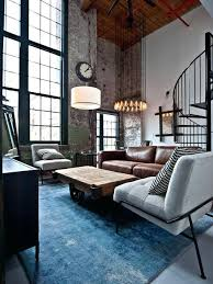 Industrial Living Room Design Moohbe