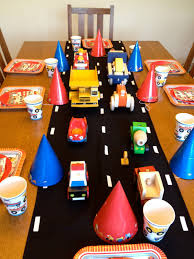 Truck Themed Party: I Bought A Piece Of Black Fabric To Create A ... Cstruction Truck Party Vixenmade Parties Little Blue First Birthday Party Photobomb Babycenter Themed Birthday Elis Bob The Builder 2nd Monster Ideas Jam Theme A How To Ay Mama Kutz Paper Scissors Trucks Cars Boys Garbage Williams Trash Bash Truck Boy Invitations Bagvania Free Printable Invi On Readers Favorite Fire Design Elegant Semi With Card Speach Hd Real Moms Plan Parties