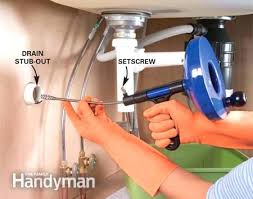 Unclogging A Kitchen Sink by Clearing Kitchen Sink Drain Unclog A Bathroom Sink Without