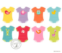 Baby Clothes Clipart 1