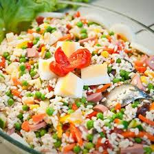 recette salade de riz complète