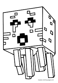 Creepers PDF Printable Coloring Page