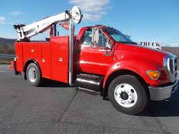 100 Service Truck With Crane For Sale 2006 Ford F750 Service Utility Truck For Sale