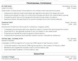 Architecture Resume Samples Architectural Professional