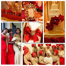 Red White And Gold Wedding Ideas Trending