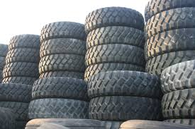 100 Goodyear Truck Tires 1400R20 AT2A Used Vrakking