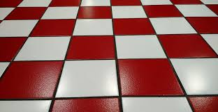 Types Of Flooring Materials by Ceramic Tiles With Red And White For House Floor Hard Floor Types