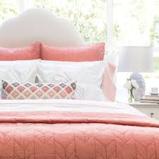 Vs Pink Bedding by Coral And White Bedding The Linden Coral Crane U0026 Canopy