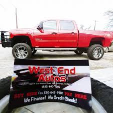 West End Autos - Car Dealership - New Braunfels, Texas - 78 Reviews ... Thank You To Richard King From New Braunfels Texas On Purchasing 2019 Ram 1500 Crew Cab Pickup For Sale In Tx 2018 Mazda Cx5 Leasing World Car Photos Installation Bracken Plumbing Where Find Truck Accsories Near Me Kawasaki Klx250 Camo Cycletradercom Official Website 2003 Dodge 3500 St City Randy Adams Inc Call 210 3728666 For Roll Off Containers