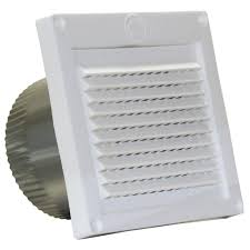 speedi products 4 in white micro louver eave vent ex evml 04