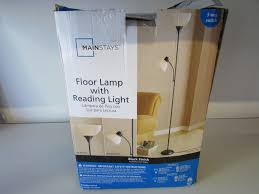 Mainstays Floor Lamp Assembly Instructions by Mainstays Hw F1219bk Floor Lamp With Reading Light Read