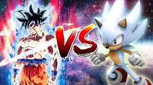 Ultra Instinct Son Goku Vs Hyper Sonic