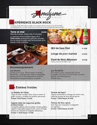 amalgame cuisine menu l amalgame pub urbain