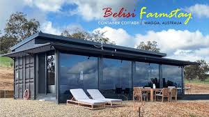 100 Shipping Container Cabins Australia Belisi Farmstay Cottage In Wagga Wagga
