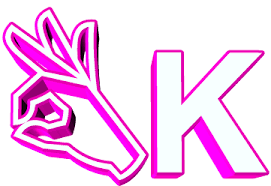 Pink Ok Sticker By AnimatedText For IOS Android