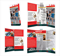Blank Tri Fold Brochure Template Publisher 2013 Microsoft Templates 2010 Download