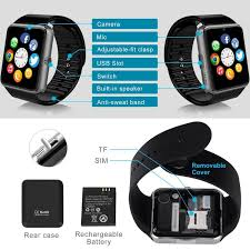 Amazon Smart Watch Bluetooth Watch Wrist Watch Phone with SIM