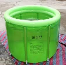 Portable Bathtub For Adults Australia by Inflatable Bath Tub Adults Folding Large Inflatable Bathtub 80