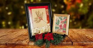 Framed Christmas Gift Bags
