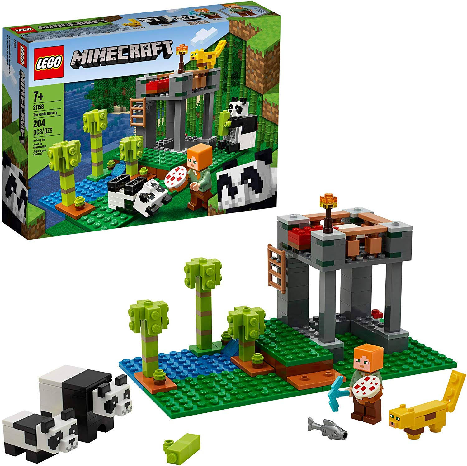 Lego Minecraft - The Panda Nursery 21158