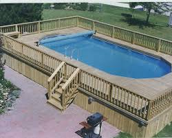 Decks Around Above Ground Pools Best Large Images On Canada Sale