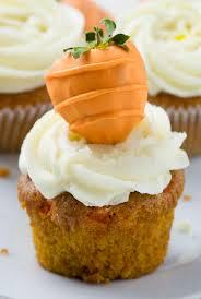 Carrot Cake Cupcakes absolutely perfect Easter dessert Easy to make and super moist carrot