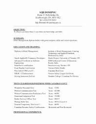Resume Format For Freshers Engineers Computer Science Unique Puter Canada Employment Sample 2 638