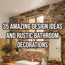 35 Amazing Rustic Bathroom Design And Decorations Ideas For ... 30 Rustic Farmhouse Bathroom Vanity Ideas Diy Small Hunting Networlding Blog Amazing Pictures Picture Design Gorgeous Decor To Try At Home Farmfood Best And Decoration 2019 Tiny Half Bath Spa Space Country With Warm Color Interior Tile Black Simple Designs Luxury 15 Remodel Bathrooms Arirawedingcom