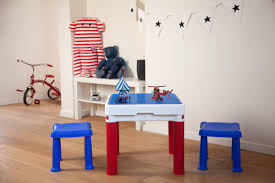 Little Tikes Desk With Lamp by Keter Constructable Kids 3 Piece Square Table And Stool Set