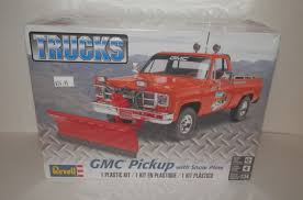 100 Truck With Snow Plow GMC Pickup Revell 857222 124 For Sale Online