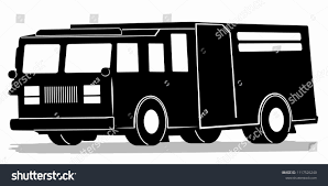 100 Fire Truck Drawing Silhouette Black White Stock Vector Royalty Free