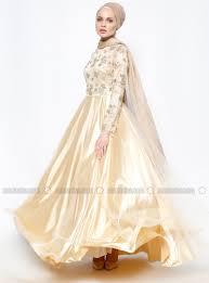 evening dress gold dmn