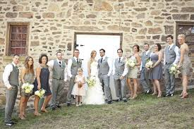 Men And Women Dressyourcorecom In Charcoal Gray Burgundy Wedding Party Attire Ideas