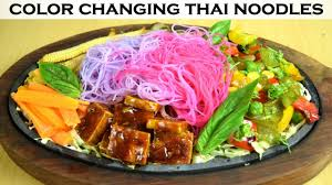 cuisine chagne how to noodles change color sizzler with color