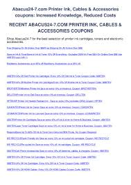 Abacus24-7.com Printer Ink Cables Accessories Coupons By ... Original Epson 664 Cmyk Multipack Ink Bottles T6641 T6642 Canada Coupon Code Coupons Mma Warehouse Houseofinks Offer Coupon Code Coding Codes Supplies Outlet Promo Codes January 20 Updated Abacus247com Printer Ink Cables Accsories Coupons By Black Bottle 98 T098120s Claria Hidefinition Highcapacity Cartridge Item 863390 Printers L655 L220 L360 L365 L455 L565 L850 Mysteries And Magic Marlene Rye 288 Cyan Products Inksoutletcom 1 Valid Today