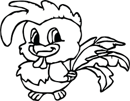 Fascinating Chicken Baby Farm Animal Coloring Page Pages For Adults Free Colouring Print Full Size