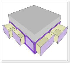 queen size platform bed plans diy queen platform bed with