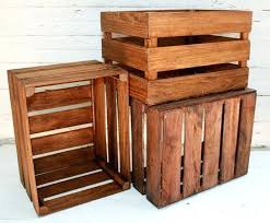 Wooden Milk Crates Box For Sale Lowes