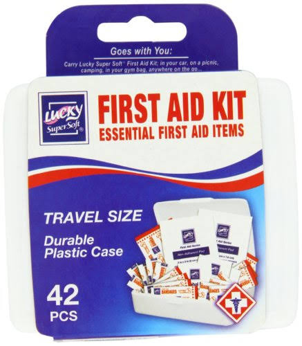 Lucky Super Soft First Aid Kit - 42pcs
