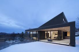 100 Define Glass House Rough Concrete White Cedar And Vast Expanses Of Glass