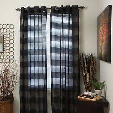 120 Inch Long Sheer Curtain Panels by Sheers Curtains Drapes U0026 Valances Ebay