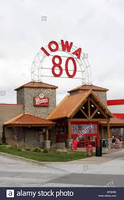 Iowa 80 Truckstop Usa Stock Photos & Iowa 80 Truckstop Usa Stock ...