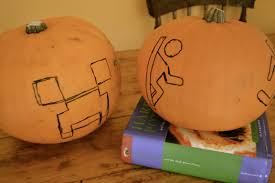 Naughty Pumpkin Carvings by Autumn Rachel In Ireland