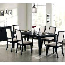 Cool Dining Room Table Fresh Design Black Set And Chairs