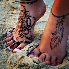 Ankle Tattoo Designs 10