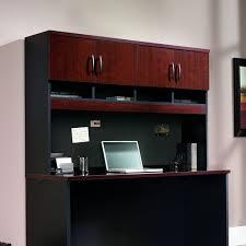 Sauder Palladia Desk With Hutch by Amazon Com Sauder Via Collection Hutch 401449 Kitchen U0026 Dining